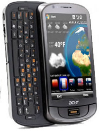 Acer M900 smartphone