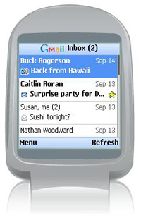 Gmail for nokia mobile phones