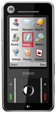 Motorola ZN300 mobile phone