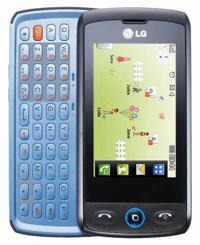 LG GW520 QWERTY Slide cell phone
