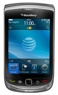 Blackberry torch 9800 by rim