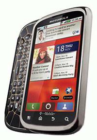 motorola cliq 2 smartphone